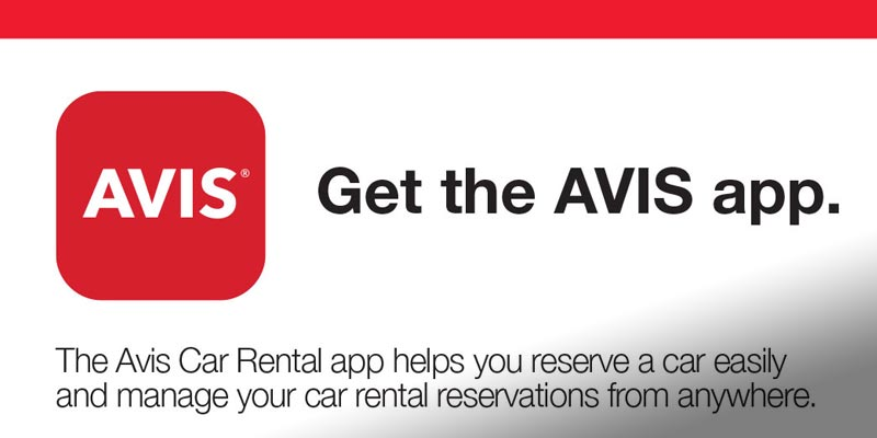 Avis Mobile App Card